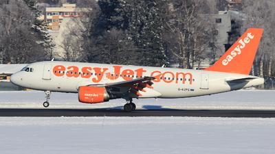 G-EZPG - Airbus A319-111 - easyJet