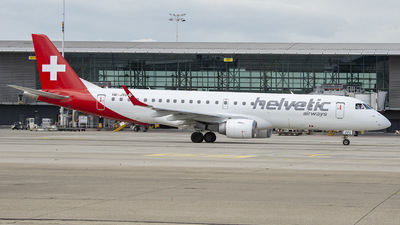 HB-JVU - Embraer 190-100LR - Helvetic Airways