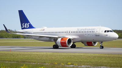 A picture of SEROP - Airbus A320251N - SAS - © Rafael Zisser