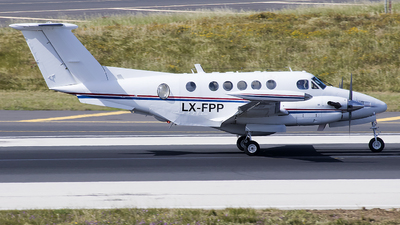 LX-FPP - Beechcraft 200T Super King Air - Diamond Executive Aviation
