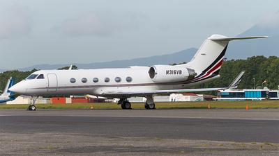 N316VB - Gulfstream G-IV(SP) - Private