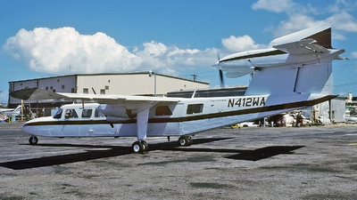 N412WA - Britten-Norman BN-2A Mk.III-2 Trislander - Flamenco Airways