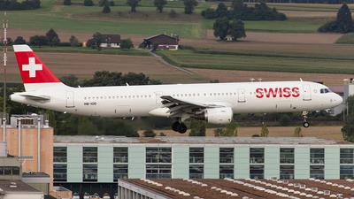 HB-IOD - Airbus A321-111 - Swiss