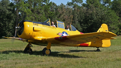 N451WA - North American SNJ-6 Texan - Warbird Adventures