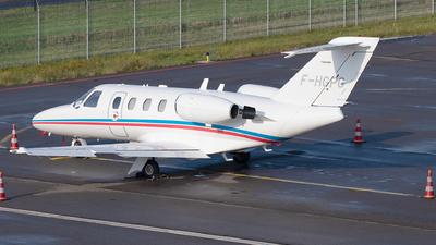 F-HGPG - Cessna 525 Citationjet CJ1 - VallJet