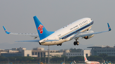 A picture of B2622 - Boeing 73771B - China Southern Airlines - © Patrick-ZHOU