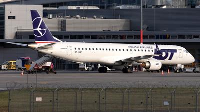 SP-LNP - Embraer 190-200LR - LOT Polish Airlines
