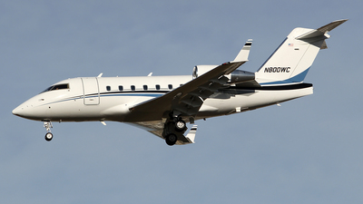 N800WC - Bombardier CL-600-2B16 Challenger 604 - Private