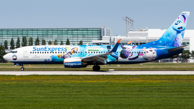 A picture of TCSNU - Boeing 7378HC - SunExpress - © Tim Donell