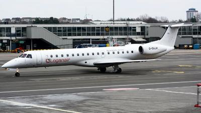 A picture of GSAJH - Embraer ERJ145EU - Loganair - © Marcin Lawniczak