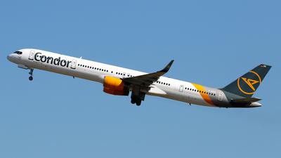 A picture of DABOG - Boeing 757330 - Condor - © Javier Rodriguez - Amics de Son Sant Joan