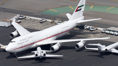 A6-DAW - Boeing 747-48E(M) - United Arab Emirates - Dubai Air Wing