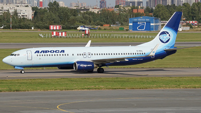 EI-ECL - Boeing 737-86N - Alrosa Airlines