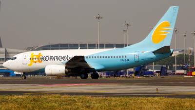 VT-SJA - Boeing 737-7BK - Jet Konnect