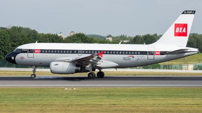 G-EUPJ - Airbus A319-131 - British Airways