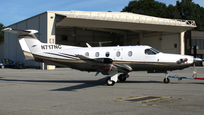 N717NC - Pilatus PC-12/47 - Private