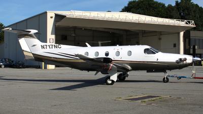 N717NC - Pilatus PC-12/47 - Private