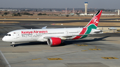 5Y-KZC - Boeing 787-8 Dreamliner - Kenya Airways
