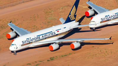 A picture of 9VSKY - Airbus A380841 - Singapore Airlines - © Brock L