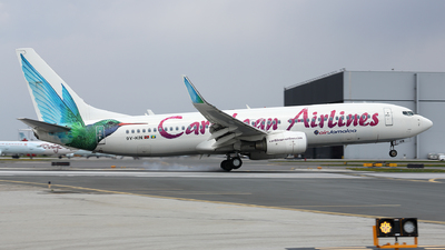 9Y-KIN - Boeing 737-8Q8 - Caribbean Airlines