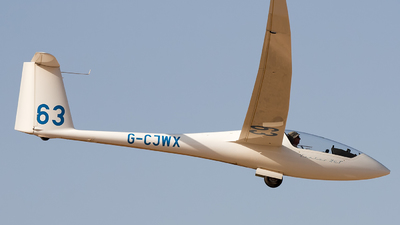 G-CJWX - Schempp-Hirth Ventus 2cT - Private