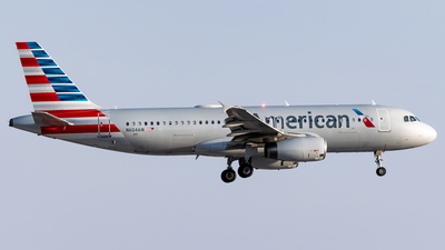 A picture of N604AW - Airbus A320232 - American Airlines - © Ricky Teteris