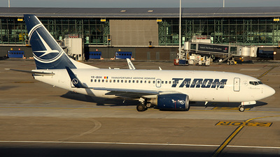 YR-BGH - Boeing 737-78J - Tarom - Romanian Air Transport