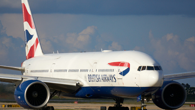 G-VIIX - Boeing 777-236(ER) - British Airways
