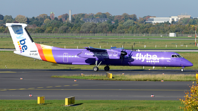 G-FLBE - Bombardier Dash 8-Q402 - Flybe