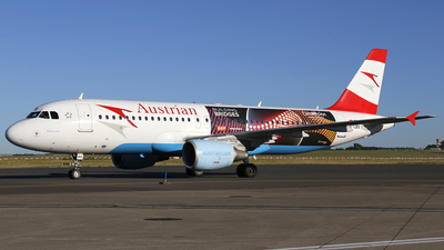 OE-LBS - Airbus A320-214 - Austrian Airlines