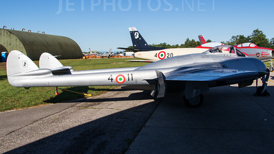 MM6033 - De Havilland Vampire FB.52 - Italy - Air Force