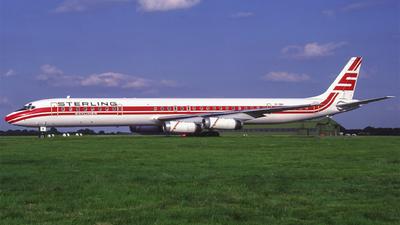 OY-SBK - Douglas DC-8-63(CF) - Sterling Airways