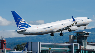 HP-1836CMP - Boeing 737-8V3 - Copa Airlines