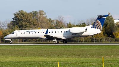 N12145 - Embraer ERJ-145XR - United Express (Commutair)