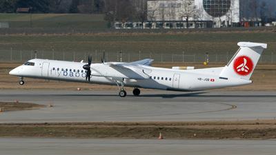 HB-JQB - Bombardier Dash 8-Q402 - Flybaboo
