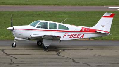 F-BSEA - Beechcraft E33A Bonanza - Private