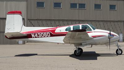 N4306D - Beechcraft D50 Twin Bonanza - Private