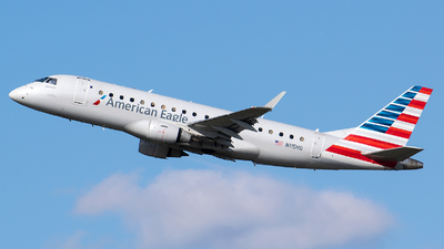 A picture of N115HQ - Embraer E175LR - American Airlines - © Evan Dougherty