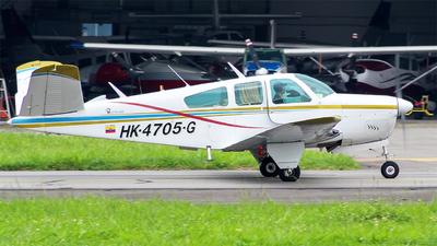 HK-4705-G - Beechcraft V35 Bonanza - Private