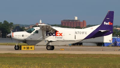 N701FX - Cessna 208B Super Cargomaster - FedEx Feeder (Wiggins Airways)