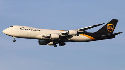 N611UP - Boeing 747-84AF - United Parcel Service (UPS)