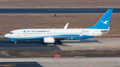 A picture of B7826 - Boeing 73785C - Xiamen Air - © Xuanting Wang