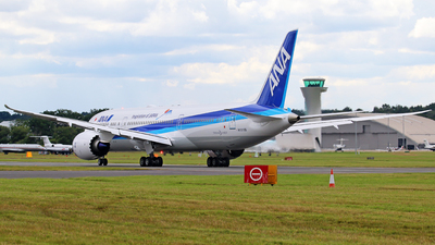 N1015B - Boeing 787-9 Dreamliner - All Nippon Airways (ANA)