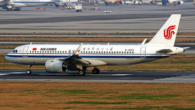 A picture of B309S - Airbus A320271N - Air China - © YuPeng Liu