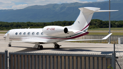 A7-CGQ - Gulfstream G500 - Qatar Executive