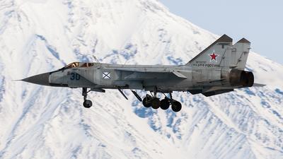 RF-33797 - Mikoyan-Gurevich MiG-31 Foxhound - Russia - Navy