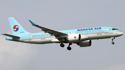 HL8312 - Airbus A220-371 - Korean Air