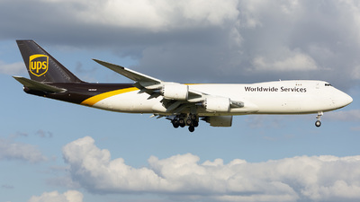 A picture of N625UP - Boeing 7478F - UPS - © Zenon Sanchez Z.