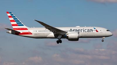 A picture of N872AN - Boeing 7878 Dreamliner - American Airlines - © Sebastian Sowa