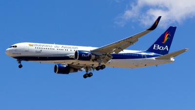 A picture of CP3086 - Boeing 7673S1(ER) - Boliviana de Aviacion - © Alejandro Gutierrez Martin